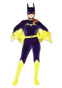 Velvet Batgirl Halloween Costume
