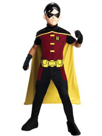Child Young Justice Robin Halloween Costume